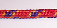 3mm rope color in red mix