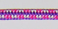 5mm rope color in pink mix