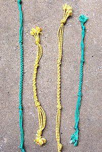 Little Joe Horse Gear green or gold tug-of-war dog toys